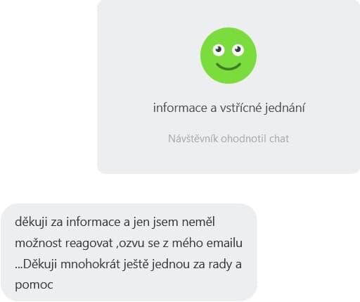 online chat v čfti